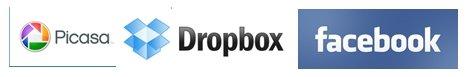 Imprimir fotos desde Facebook, Dropbox, Picasa