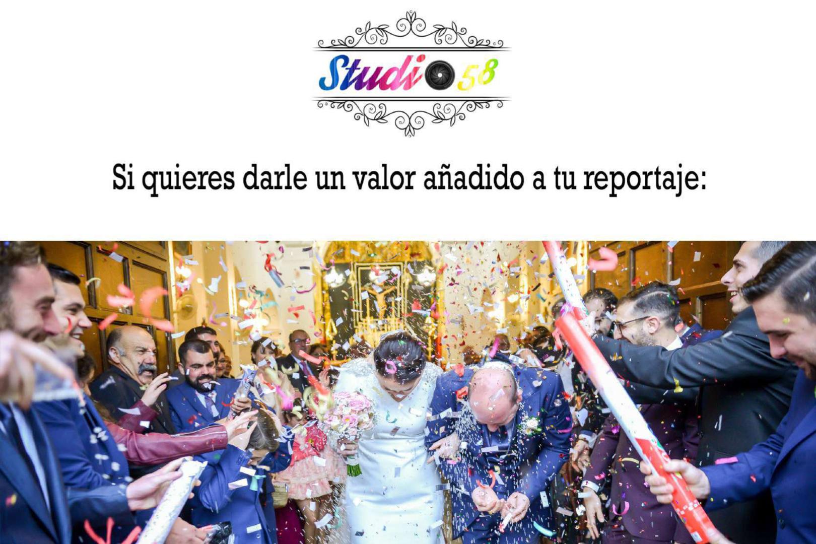opciones de reportaje de boda